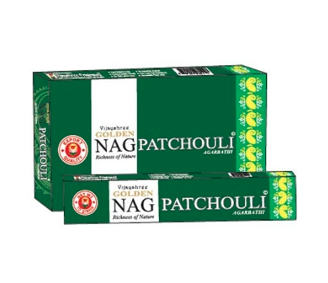 Golden Nag Patchouli Incense Sticks