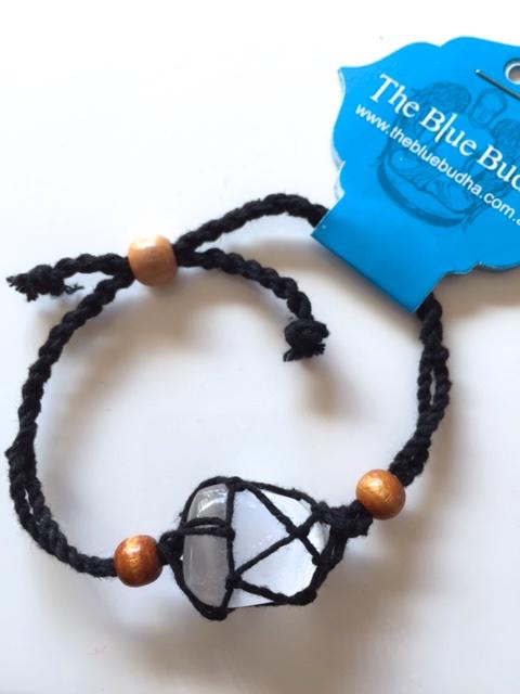 woven bracelet black