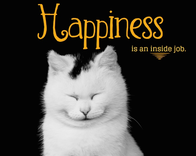 Charming Happiness Is An Inside Job!