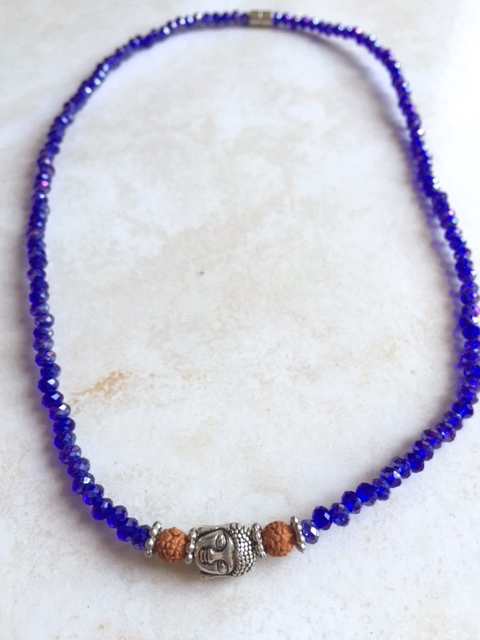 necklace cobalt