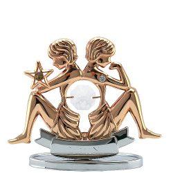 Crystocraft Zodiac – Gemini - Rose Gold