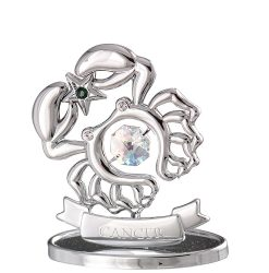 Crystocraft Zodiac - Cancer - Silver
