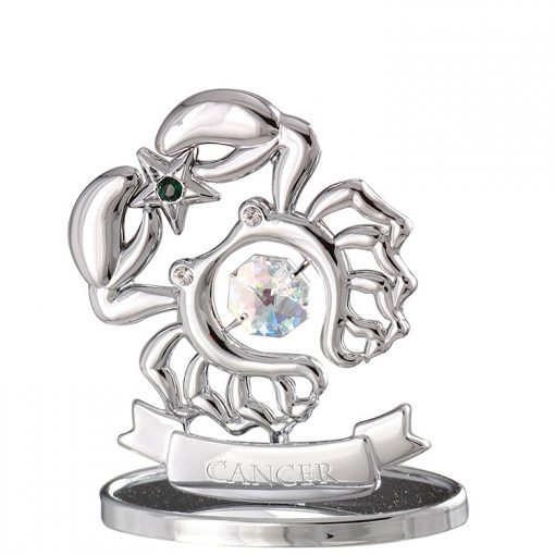Crystocraft Zodiac – Cancer – Silver