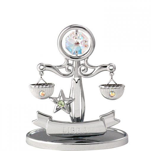 Crystocraft Zodiac – Libra – Silver