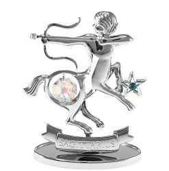 Crystocraft Zodiac - Sagittarius - Silver