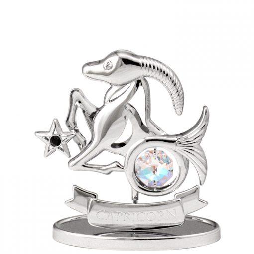 Crystocraft Zodiac – Capricorn – Silver