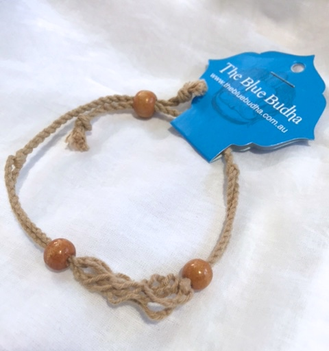 woven bracelet natural