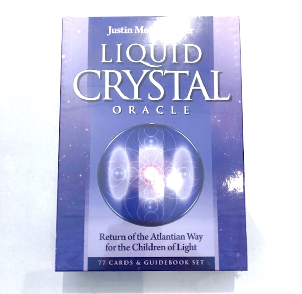 liquid crystal oracle return of the atlantian way for the children of light oracle card and book set