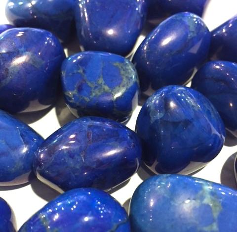 lapis blue howlite