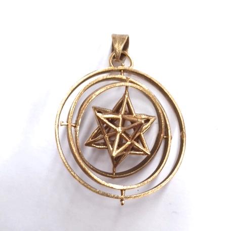 3d sacred geometry pendant the blue budha sacred geometry aloadofball Gallery