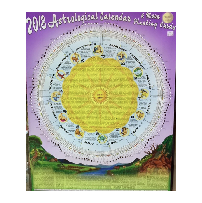 astrological calendar and moon planting guide