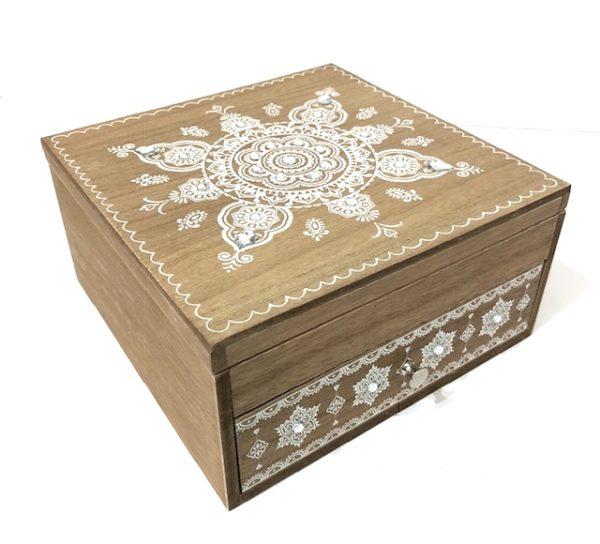 boho jewellery box
