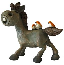 Bailey Horse & Birds