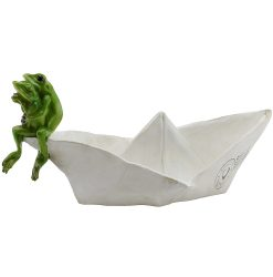 Frogs On Boat