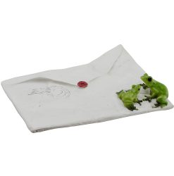 Frogs On Envelope