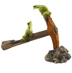 Frogs on Pickaxe