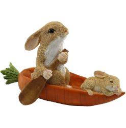 Rabbits in Carrot Boat