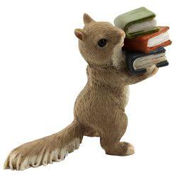 Mini Squirrel with Book