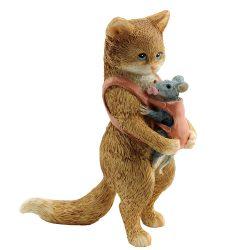 Mum Cat & Baby Mouse