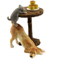 Dog & Kitten Table