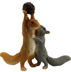 Squirrels & Nut