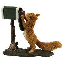 Squirrel Checking Mail