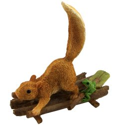 Squirrel on Raft
