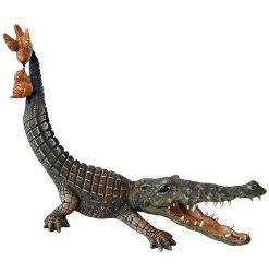 Crocodile & Birds