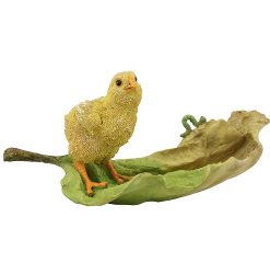 Chick on Leaf