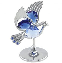 Crystocraft Dove - Silver/Blue