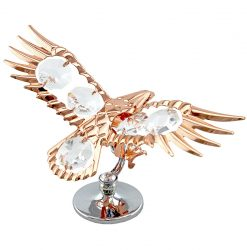 Crystocraft Eagle - Rose Gold