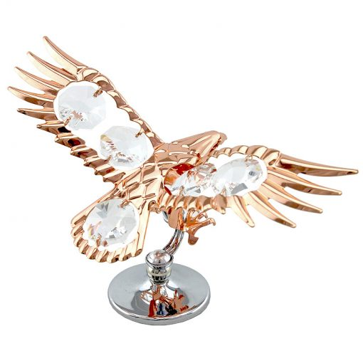 Crystocraft Eagle – Rose Gold