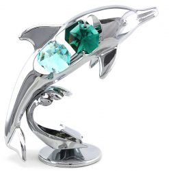 Crystocraft Dolphin - Silver