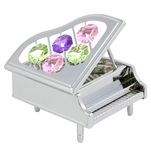 Crystocraft Piano – Silver