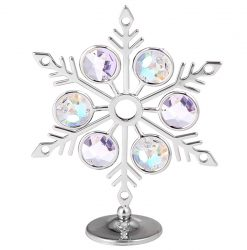Crystocraft Snowflake - Silver