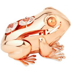 Crystocraft Lucky Frog - Rose Gold