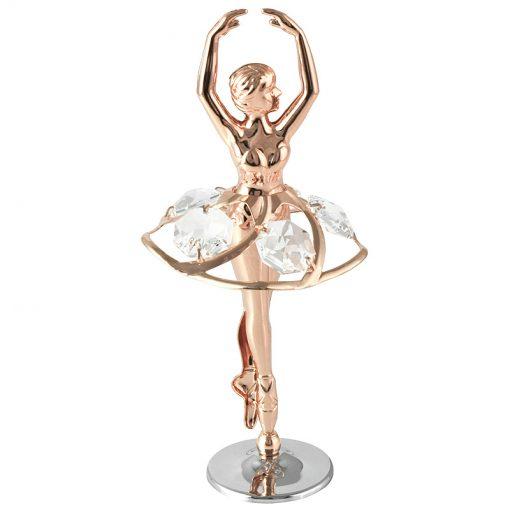 Crystocraft Ballerina – Rose Gold