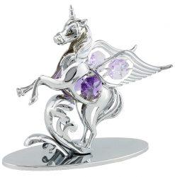 Crystocraft Pegacorn - Silver