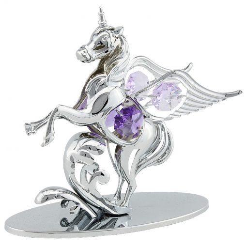Crystocraft Pegacorn – Silver
