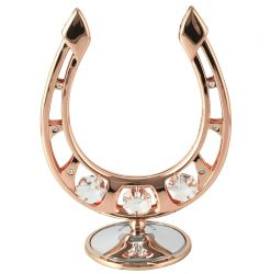 Crystocraft Horseshoe - Rose Gold