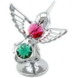 Crystocraft Hummingbird - Silver