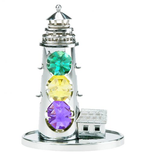 Crystocraft Lighthouse – Silver