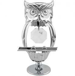 Crystocraft Owl - Silver