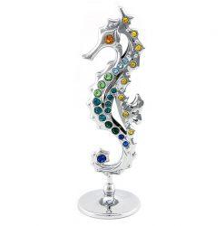 Crystocraft Seahorse - Silver