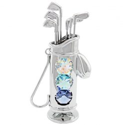 Crystocraft Golf Bag - Silver