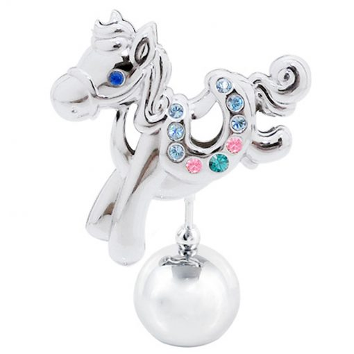 Crystocraft Pony – Silver