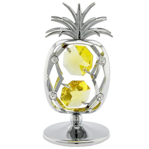 Crystocraft Pineapple – Silver